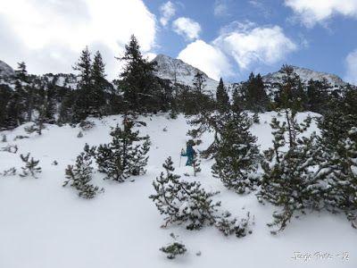 P1180176 - La primera esquiada, La Besurta (Valle de Benasque)