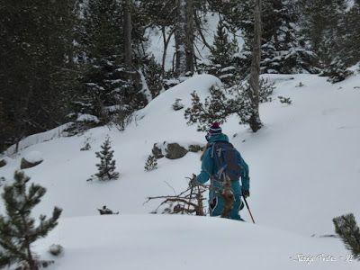 P1180179 - La primera esquiada, La Besurta (Valle de Benasque)