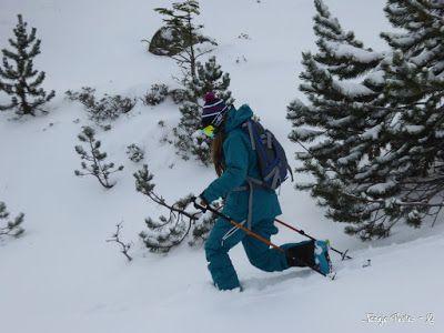P1180181 - La primera esquiada, La Besurta (Valle de Benasque)