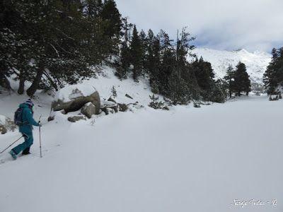 P1180204 - La primera esquiada, La Besurta (Valle de Benasque)