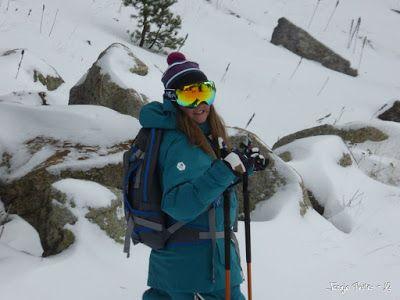 P1180207 - La primera esquiada, La Besurta (Valle de Benasque)