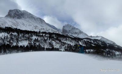 P1180234 - La primera esquiada, La Besurta (Valle de Benasque)