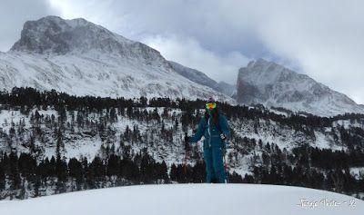 P1180238 - La primera esquiada, La Besurta (Valle de Benasque)