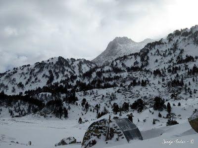 P1180239 - La primera esquiada, La Besurta (Valle de Benasque)