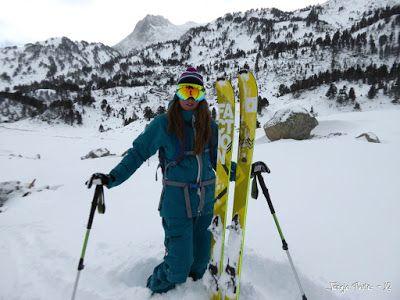 P1180255 - La primera esquiada, La Besurta (Valle de Benasque)