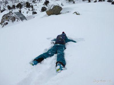 P1180256 - La primera esquiada, La Besurta (Valle de Benasque)