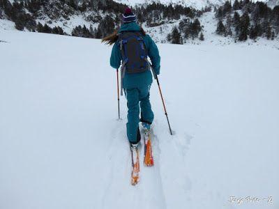 P1180260 - La primera esquiada, La Besurta (Valle de Benasque)