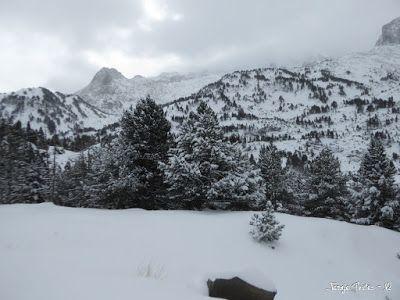 P1180270 - La primera esquiada, La Besurta (Valle de Benasque)