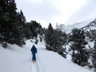 P1180277 - La primera esquiada, La Besurta (Valle de Benasque)