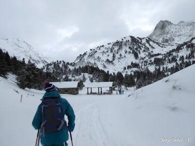 P1180280 - La primera esquiada, La Besurta (Valle de Benasque)