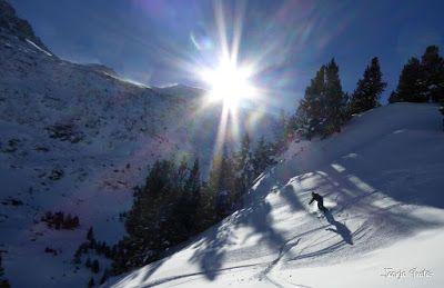 P1180608 - Salida de amigos por La Renclusa. Buena nieve.