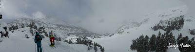 Panorama1 - Salida de amigos por La Renclusa. Buena nieve.