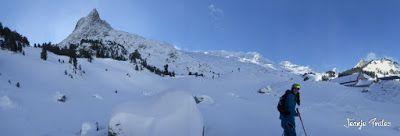Panorama4 - Salida de amigos por La Renclusa. Buena nieve.