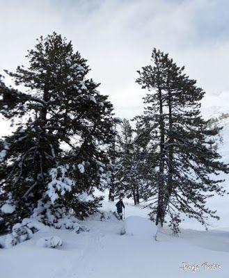 Panorama5 001 - Salida de amigos por La Renclusa. Buena nieve.