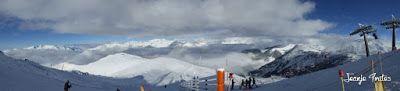 Panorama1 1 - Y nos nevó ... a por los gordos. Cerler.