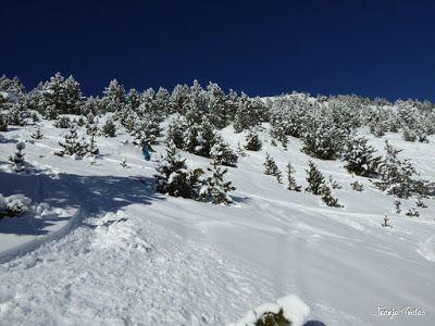 P1200709 - En Cerler nieve y sol, no en los mapas de la tele.