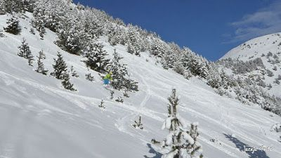 P1200715 001 - En Cerler nieve y sol, no en los mapas de la tele.