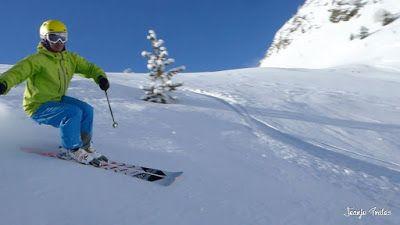 P1200719 005 - En Cerler nieve y sol, no en los mapas de la tele.