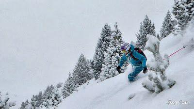 P1200926 040 fhdr - Nieve de verdad en Cerler, Valle de Benasque.