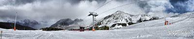 Panorama1 fhdr - Día completo, nevando en Cerler.