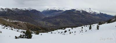 Panorama2 1 - Chía con MasPirineo, es mucha sierra. Valle de Benasque