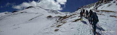 Panorama4 - Pico Castanesa (2.858 m.) con Maspirineo.