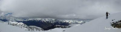 Panorama5 - Pico Castanesa (2.858 m.) con Maspirineo.