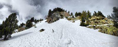 Panorama10 001 fhdr - Skimo por La Solana y Tubo de la Red, Cerler