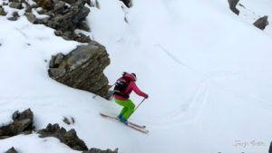 P1250610 001 1 300x169 - Repetimos y nevando en Roques Trencades, Cerler.