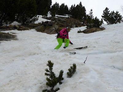 P1250626 - Repetimos y nevando en Roques Trencades, Cerler.