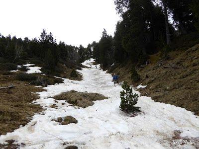 P1250627 - Repetimos y nevando en Roques Trencades, Cerler.