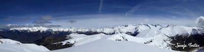 Panorama10 001 - Tuca Roques Trencades, 2.755 m.,  en Cerler (Valle de Benasque)