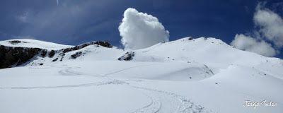 Panorama14 001 1 - Tuca Roques Trencades, 2.755 m.,  en Cerler (Valle de Benasque)
