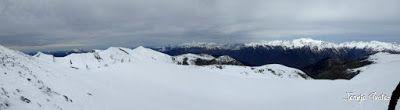 Panorama2 001 2 - Nevadita en la Tuca de Castanesa 2 858m. Valle de Benasque.