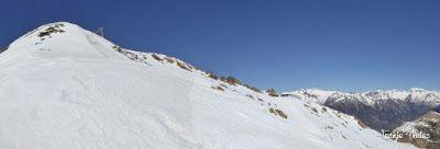 Panorama2 1 - Primera esquiada de Mayo en Cerler.