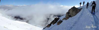 Panorama2 - 30/5 Aneto y nevando.