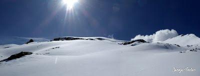 Panorama3 001 2 - Tuca Roques Trencades, 2.755 m.,  en Cerler (Valle de Benasque)