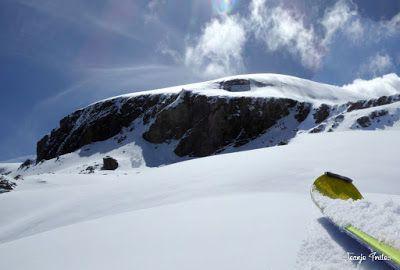 Panorama5 001 2 - Tuca Roques Trencades, 2.755 m.,  en Cerler (Valle de Benasque)