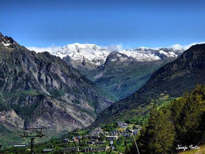 P1260854 fhdr - He vuelto a Las Tres Cascadas de Cerler, Valle de Benasque.