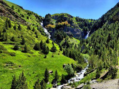 P1260859 fhdr - He vuelto a Las Tres Cascadas de Cerler, Valle de Benasque.