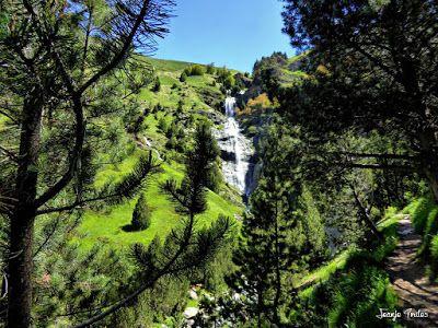 P1260861 fhdr - He vuelto a Las Tres Cascadas de Cerler, Valle de Benasque.