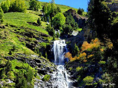 P1260865 fhdr - He vuelto a Las Tres Cascadas de Cerler, Valle de Benasque.