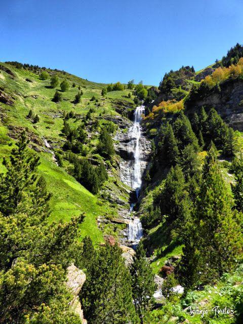 P1260869 fhdr - He vuelto a Las Tres Cascadas de Cerler, Valle de Benasque.