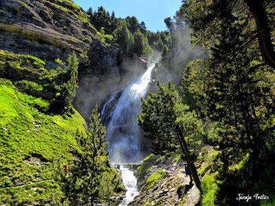 P1260876 fhdr - He vuelto a Las Tres Cascadas de Cerler, Valle de Benasque.