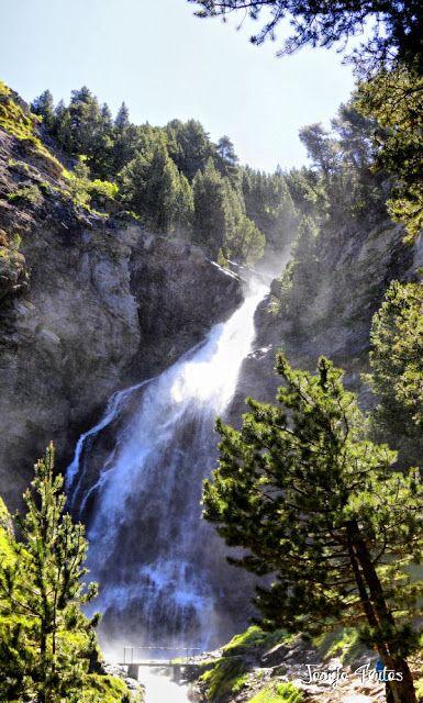 Panorama1 001 fhdr - He vuelto a Las Tres Cascadas de Cerler, Valle de Benasque.