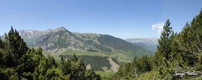 Panorama3 - Subida a Picalbo (2.270 m), Cerler