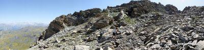 Panorama1 001 - Entre sarrios por Ardonés, Valle de Benasque.