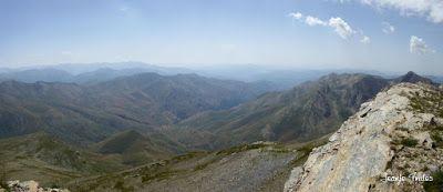 Panorama10 001 - Entre sarrios por Ardonés, Valle de Benasque.