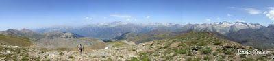 Panorama8 001 - Entre sarrios por Ardonés, Valle de Benasque.