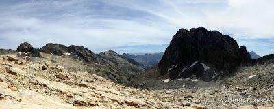 Panorama10 001 - Ibón Blanco de Literola, Valle de Benasque.